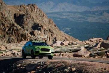 В Россию привезут уникальный Bentley Bentayga из спецсерии Pikes Peak