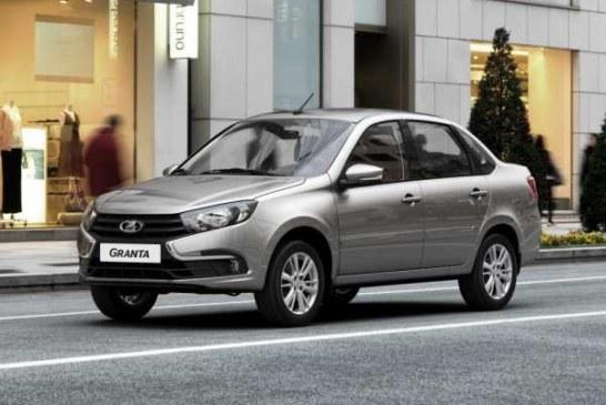 Lada Granta бьет рекорды продаж в 2019 году