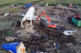 Демонтаж самолета А321 завершился