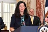 Помощник госсекретаря США по странам Латинской Америки ушла в отставку