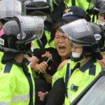 Полиция Сеула задержала 19 студентов-демонстрантов на территории резиденции посла США