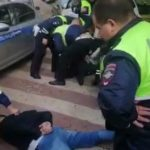 Жесткое задержание сына вице-президента МТС попало на видео