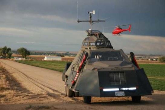 В Америке продают танк, который может заехать внутрь торнадо