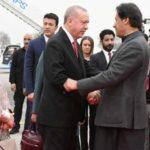Эрдоган прибыл в Пакистан с официальным визитом