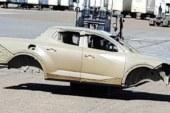 Шпионы поймали первый пикап Hyundai