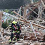 Мощный взрыв произошел рядом с вокзалом в Баварии