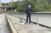 Угрожавшего взорвать мост в Киеве мужчину отправили в психбольницу