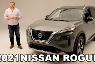 Представлен Nissan X-Trail нового поколения: двухэтажная оптика и третий ряд сидений