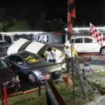 Cadillac таранит дилерский центр: разбито 6 машин на $100 тыс (видео)