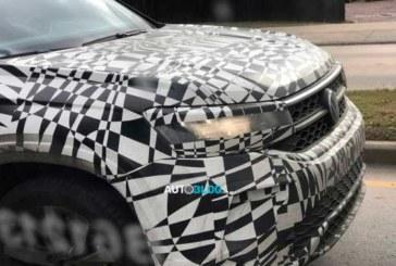 Volkswagen тестирует новый кроссовер для России