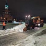 Омские чиновники будут чистить дороги от снега с помощью Instagram