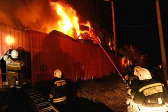 В полиции назвали возможную причину пожара на рынке в Ростове-на-Дону