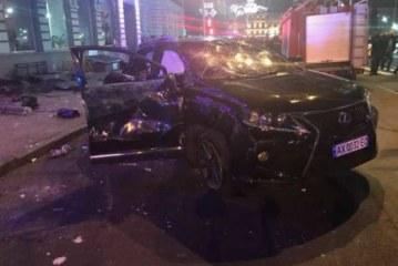 Украинская мажорка на Lexus врезалась в толпу пешеходов