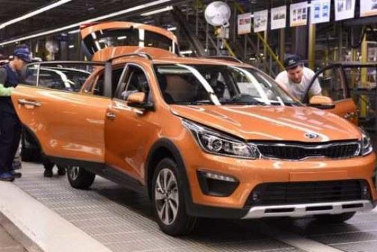 KIA Rio X-Line запущен в производство
