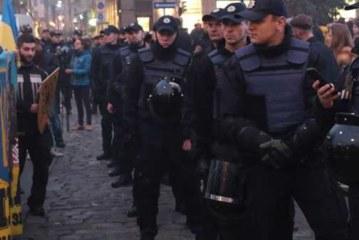 Марш националистов завершился в Киеве без происшествий