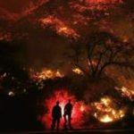 Лесные пожары в Калифорнии — фоторепортаж