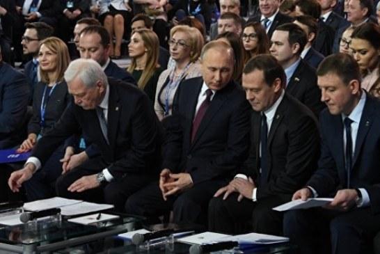 Путин заявил о необходимости повышать доходы россиян