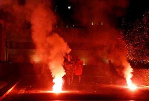 Полиция Греции применила слезоточивый газ против демонстрантов