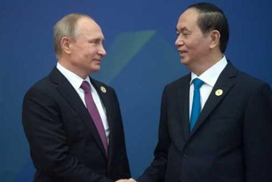Путин обсудил с президентом Вьетнама взаимодействие ЕАЭС и страны