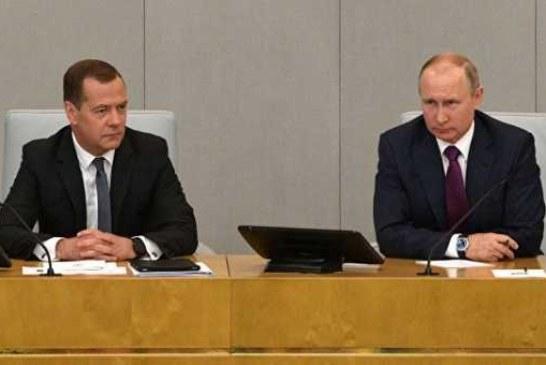 Путин подписал указ о назначении Медведева премьер-министром