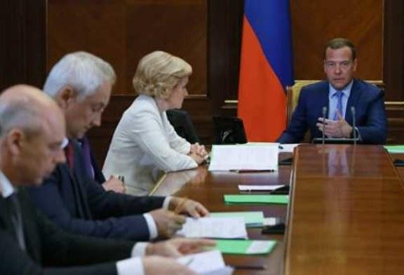 Стал известен состав участников совещания с Медведевым по майскому указу