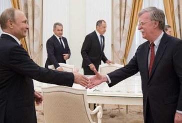 Ушаков рассказал о темах переговоров Путина и Болтона