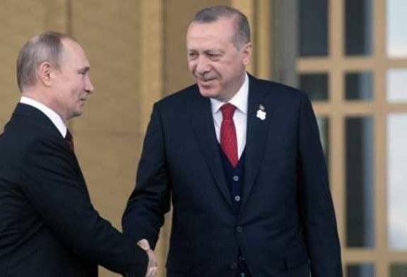 Путин подтвердил Эрдогану готовность к продолжению диалога