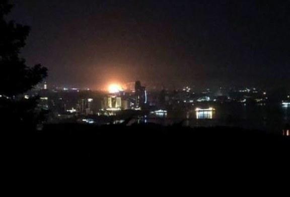 Во всем Баку погас свет