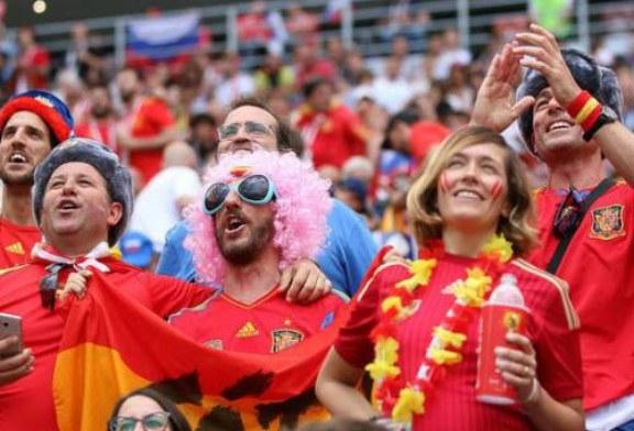 Из «Лужников» госпитализировали испанца, поставившего 15 тыс евро против России