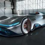 Mercedes-Benz показал электросуперкар в ретростиле