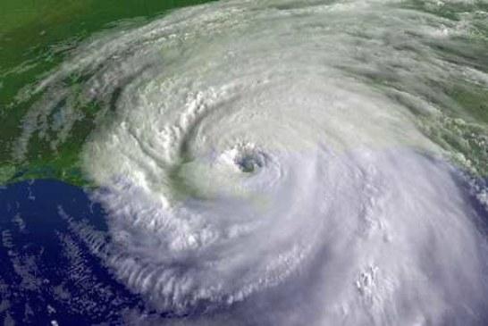 В Тихом океане набирает силу шестой по счету ураган «Лейн»