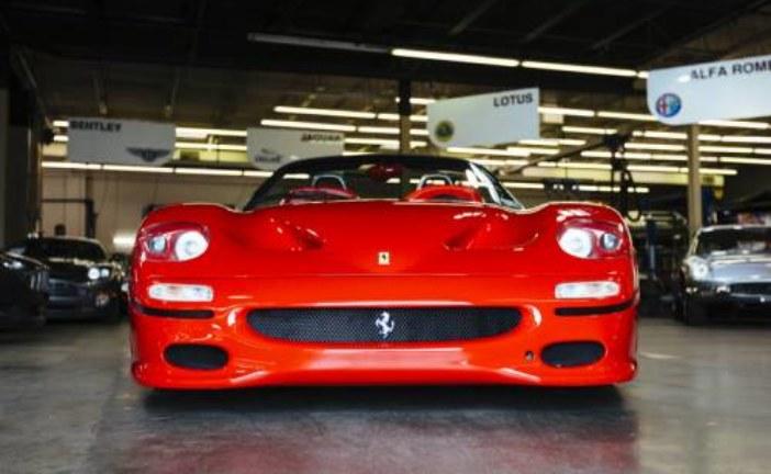 В Америке продают первый экземпляр суперкара Ferrari F50