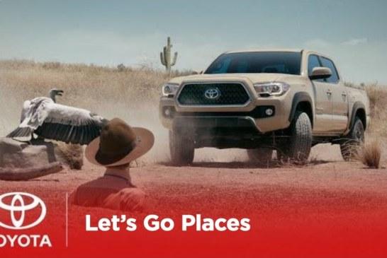 Чак Норрис снялся в забавной рекламе пикапа Toyota (видео)