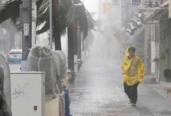 Почти 100 тыс. домов в Японии остались без света из-за тайфуна