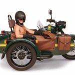 Спецверсию мотоцикла «Урал» оснастили канистрой водки