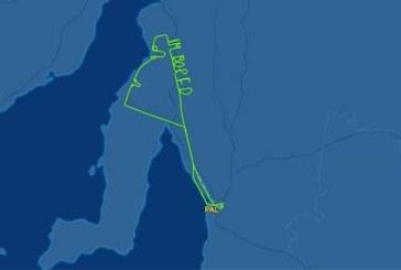 Австралийский пилот от скуки нарисовал в небе два фаллоса