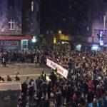 В Белграде протестующие потребовали отставки президента и премьер-министра