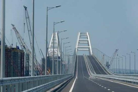 5 миллионов автомобилей проехали за год по Крымскому мосту