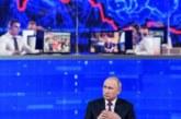 Запад о прямой линии Путина: Народ о пенсионной реформе, а им про спасение китов