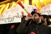 Оппозиционеры не дали президенту Грузии поужинать в ресторане