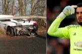 Вратарь «Манчестер Юнайтед» расколотил Lamborghini за 200 тысяч евро, но успел на тренировку