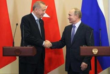 Путин встретится с Эрдоганом в Берлине перед конференцией по Ливии