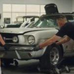 «Аквамен» похитил Mustang у своей жены